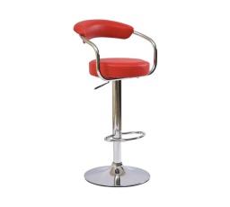 Barová židle Krokus C-231 červená