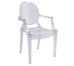 Jídelní židle LUIS Transparent