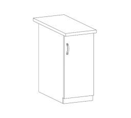 ROYAL  - dolní skříňka 30cm D30