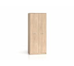 Šatní skříň NEPO SZF2D dub sonoma