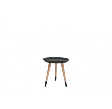 stolek LAWA 024 (TXL024)  černá/buk přírodní (TX058/TX002)