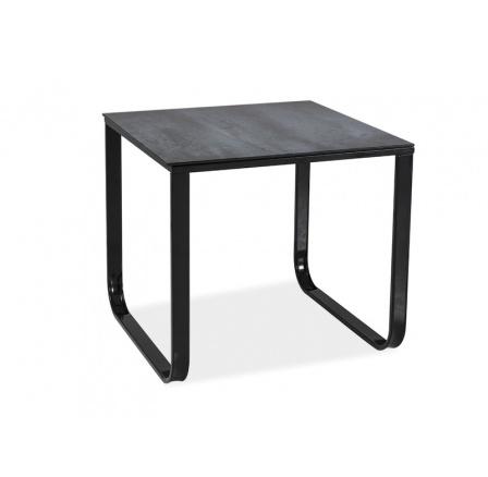 Konferenční stůl TAXI D šedý kámen, 55x55 cm