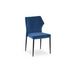 K331 krzesło nogi - czarne, siedzisko - granatowy (1p=2szt)