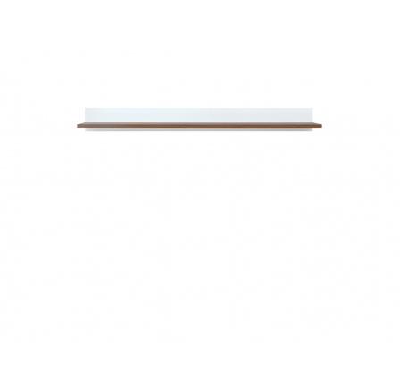 HEDA POL/135 bílá/modřín sibiu světlý