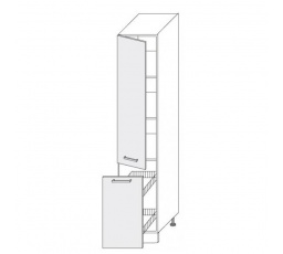 PLATINUM - dolní skříňka  40cm 2D14k/40 + cargo koš