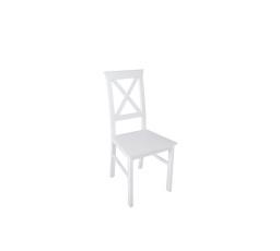 židle ALLA 4 - bílá teplá (TX098)
