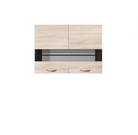 Kuchyňská skříňka Junona Line G2W/80/57, wenge/dub sonoma