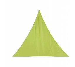 Stínící plachta trojúhelník 3m - limetka