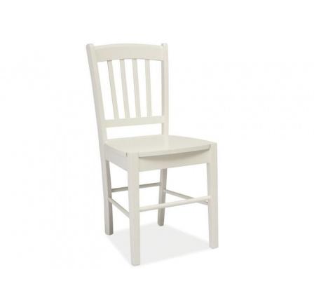 Jídelní židle CD-57, bílá