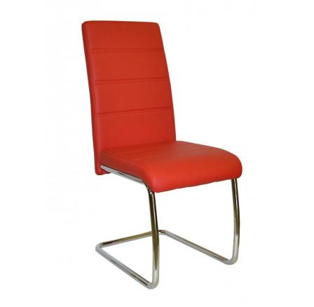 Jídelní židle Y 100 červená