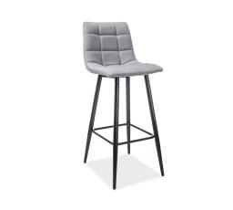 Barová židle SPICE šedá