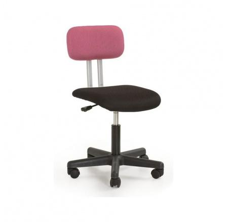 Dětská židle PLAY, Černo-růžová