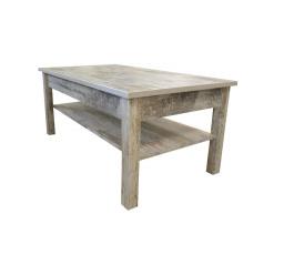 Konferenční stolek Samir R9 bílá borovice