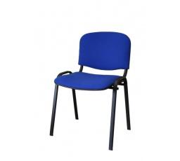 Konferenční stohovatelná židle ISO, modrá