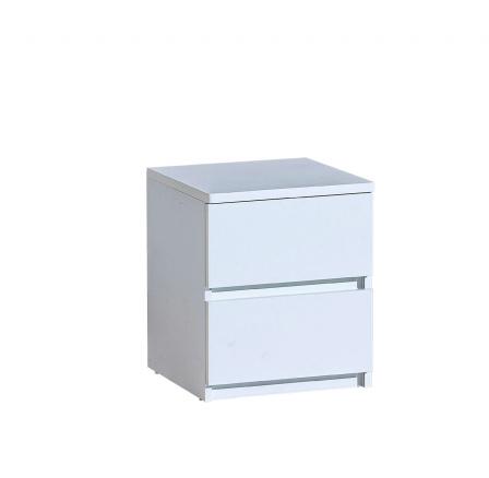Noční stolek ARCA - AR10, Bílá arktická