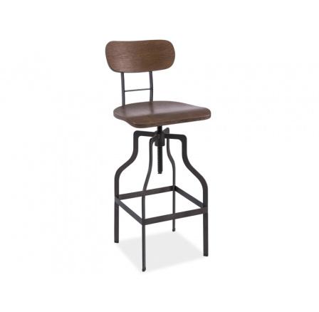 Barová židle Drop ořech