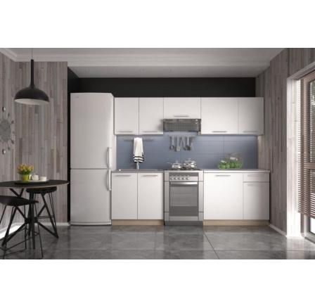 Kuchyňská linka DARIA 240, dub sonoma/bílá