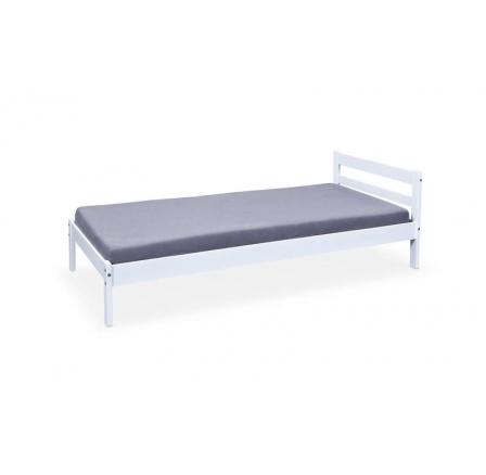 Dětská postel FINY Bílá, 200x90 cm