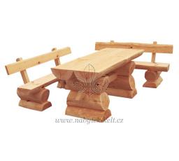 Dřevěná zahradní sestava Bali