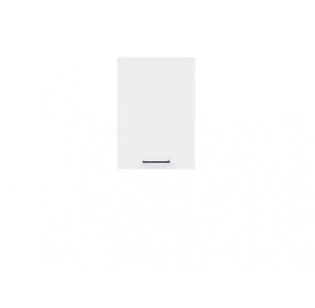 Kuchyňská skříňka Junona Line G1D/40/57-LP, bílá/bílý lesk