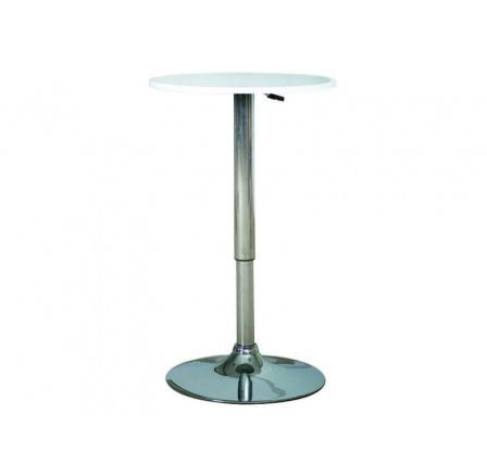 Barový stůl B-500 bílý