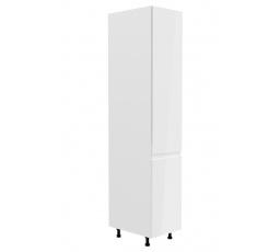 Kuchyňská dolní skřínka - ASPEN D40SP (P/L), bílý lesk