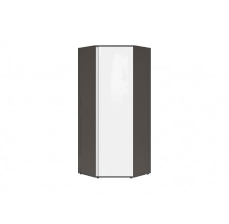 Rohová šatní skříň GRAPHIC (S343) SZFN1D/C