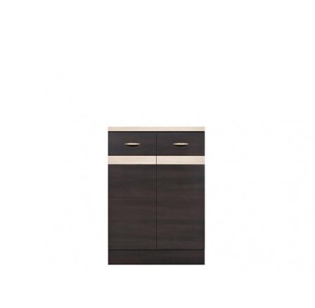 Kuchyně Junona Line, spodní skříňka D2D/60/82, wenge/wenge