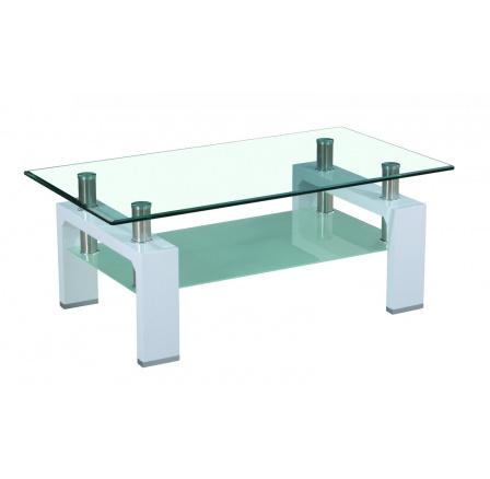 Konferenční stolek A 08-2 bílý