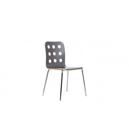Židle CANTONA STOP šedá