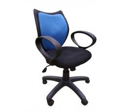 D-8127-1 - kancelářská židle - modrá/černá (MAL)***POSLEDNÍ KUS