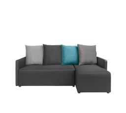 DANY LUX 3DL.URC - Jasmine 100 black/Jasmine 96 grey/Jasmine 90 grey/Jasmine 85 turquoise/korpus:M7226G(neo 15 black), prošití 4000 (FL VIII-1030) (BRW COMFORT)