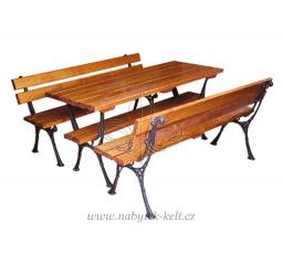 Dřevěná zahradní sestava - Koval