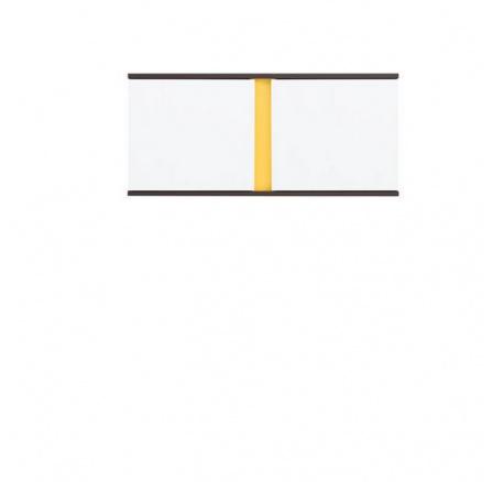 GRAPHIC SFW2D/86/38 šedý volfram/bílý lesk ( laminat )***POSLEDNÍ KUS