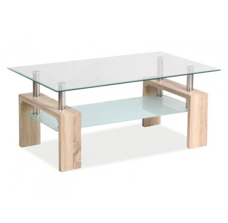 Konferenční stůl LISA BASIC II, dub sonoma