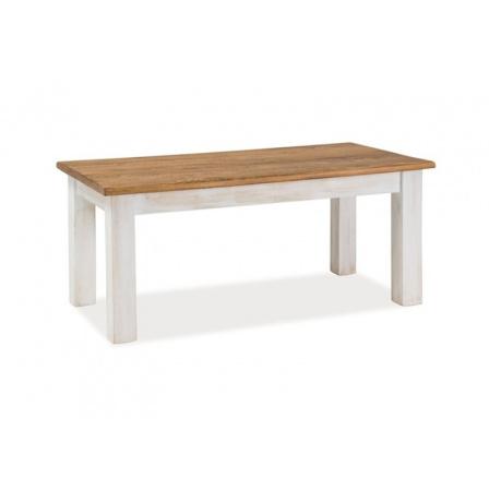 Konferenční stůl POPRAD / ořech+bílá