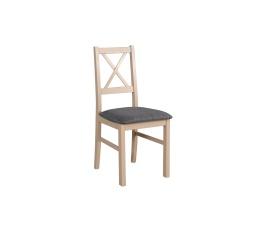 """NIEL 10- jídelní židle (NILO 10) dub sonoma / látka 12 - kolekce """"DRE"""" (K150-Z)"""