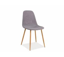 Jídelní židle FOX šedá