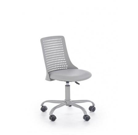 Dětská židle PURE /šedá