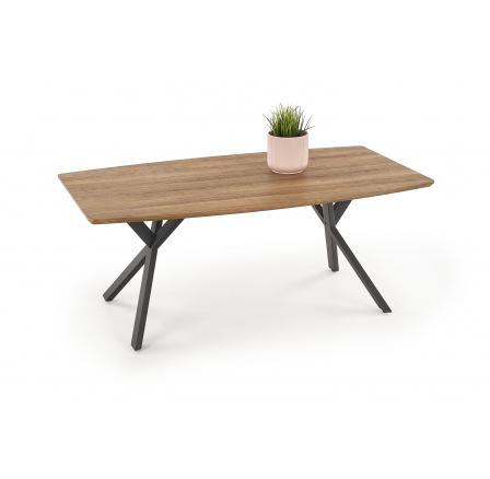 Konferenční stůl RUSTICA Ořech/Černá