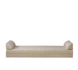 INDIANA/MALCOLM JLOZ80/160 - CARBO molitanová matrace se 2 záhlavky, SAWANA 17 (béžová)