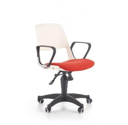 Dětská židle JUMBO /bílá+červená