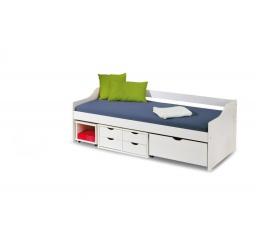 Dětská postel FLORO 2 Bílá, 200x90 cm