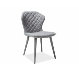 Jídelní židle LOGAN, šedá