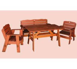 Dřevěná zahradní sestava JAN