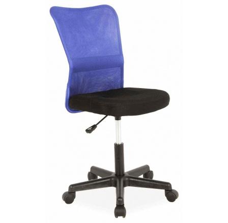 Kancelářské křeslo Q-121 /černá+ modrá
