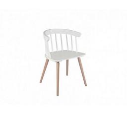 židle PATYCZAK FOTEL bílá (TX098)/dub sonoma (TX069)
