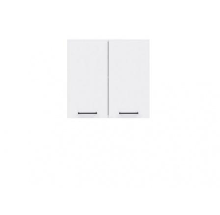Kuchyně Junona Line, G2D/60/57, bílá/bílý lesk