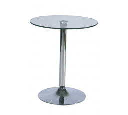 Barový stůl B-100 sklo
