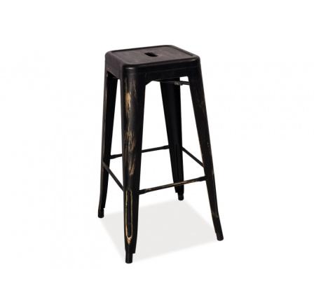 Barová židle LONG patina